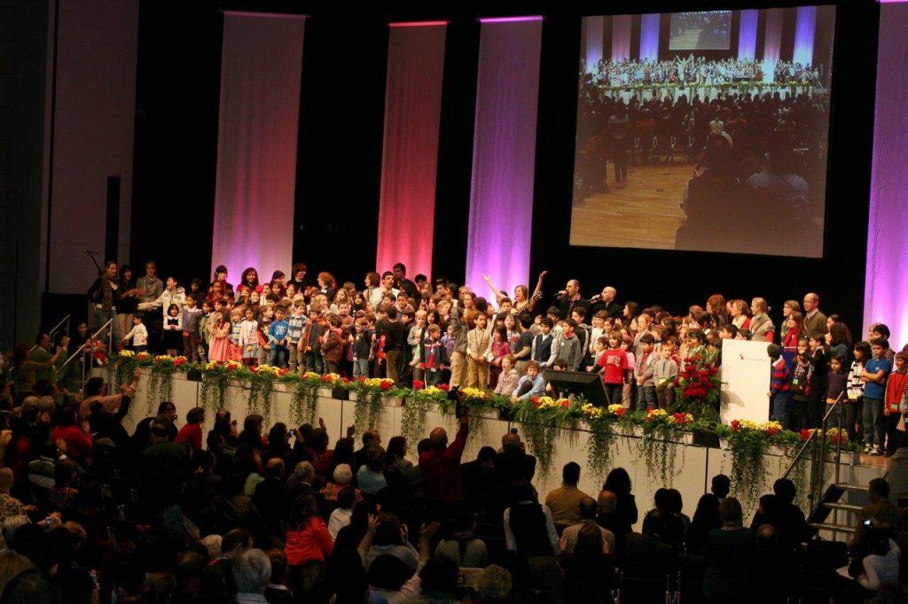 Bahá'í-Konferenz in der Frankfurter Messe im Februar 2009